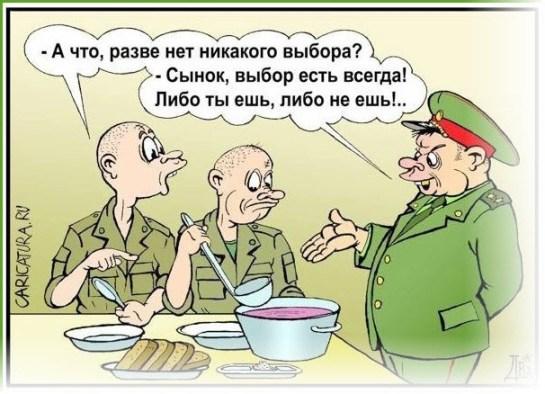 Выбор в армии