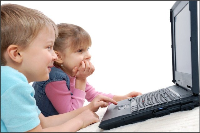 Любят дети компьютер
