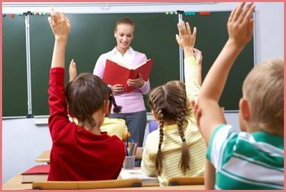 Фото с детьми и учителем