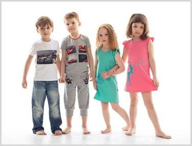 Ребятки в удобной домашней одежде