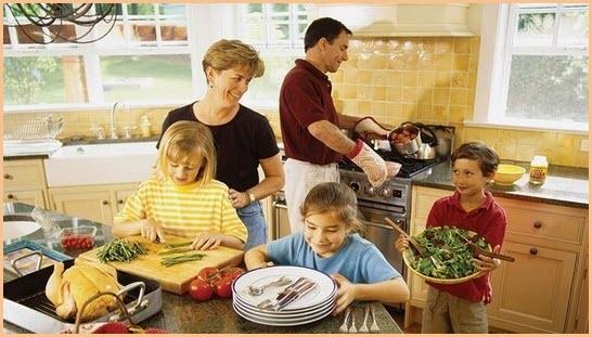 Готовим обед для дружной семьи