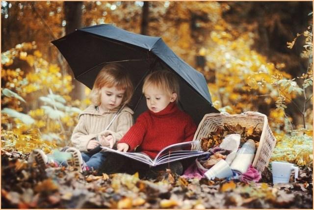 Фото детей в лесу
