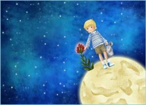 Маленький принц и его роза