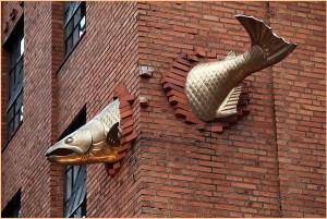 Рыба украшает дом