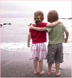 Фото двух друзей