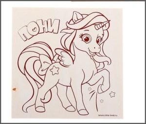 картинка пони