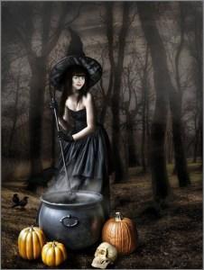 Весёлая ведьма