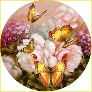 Декупаж бабочки