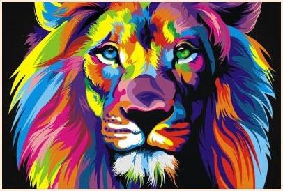 сказочный лев