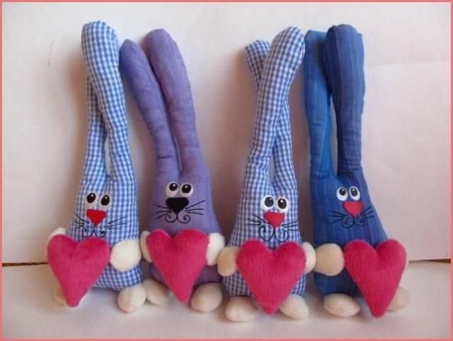 игрушки зайцы