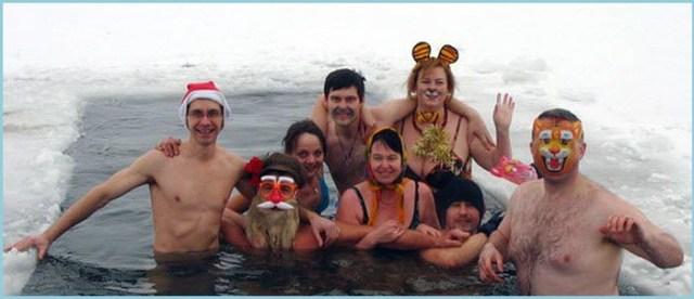 Люди моржи