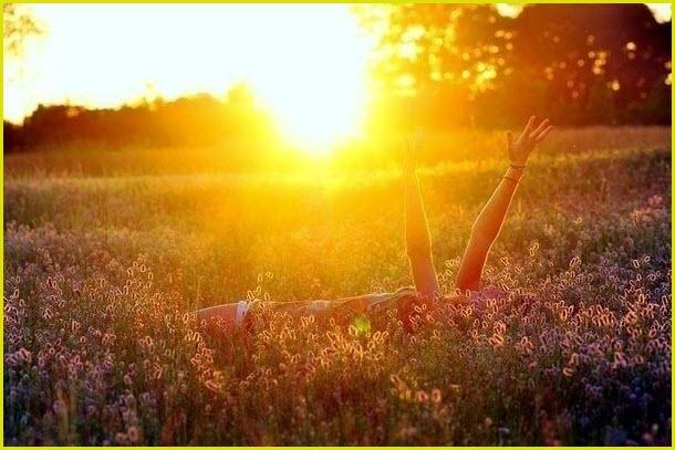 Радостное солнце