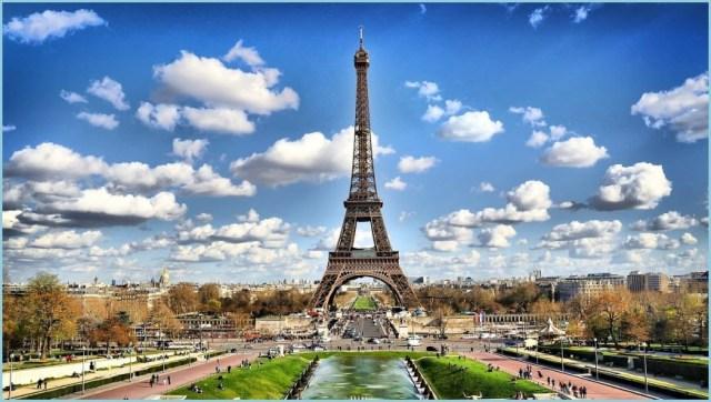 Париж на рабочий стол