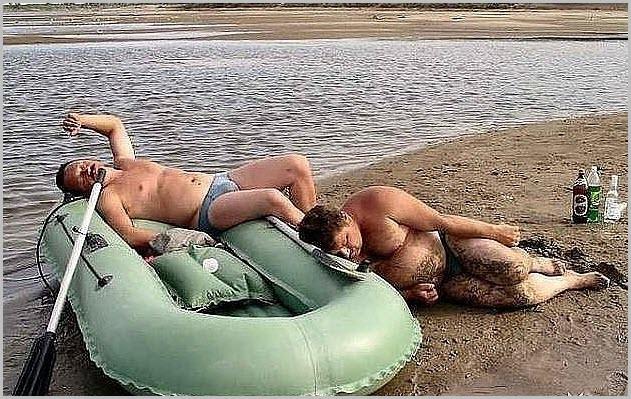 Рыбаки пьяные
