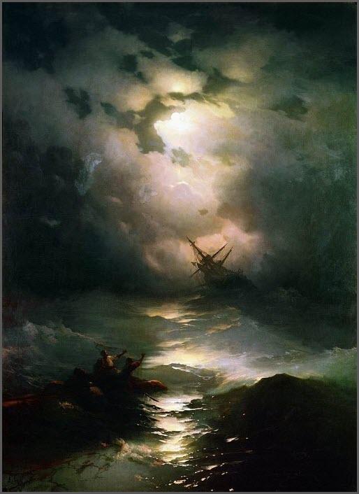 Морской шторм