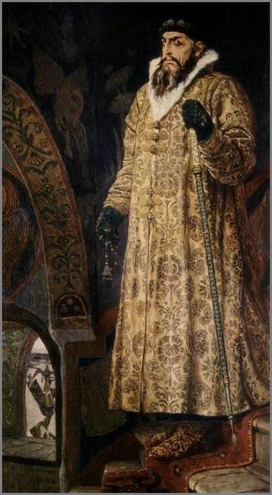 Царь Иван Грозный картина
