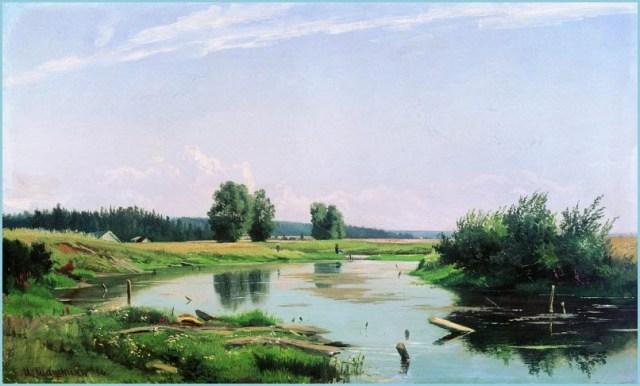 Озеро фото