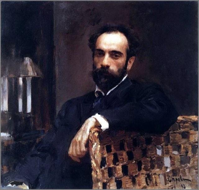Левитан портрет