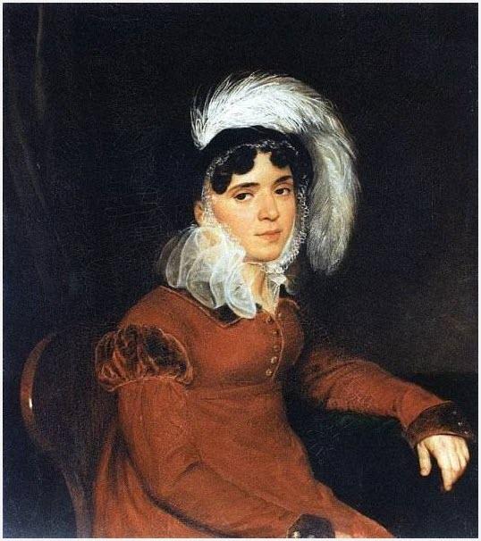 Портрет грустной девушки