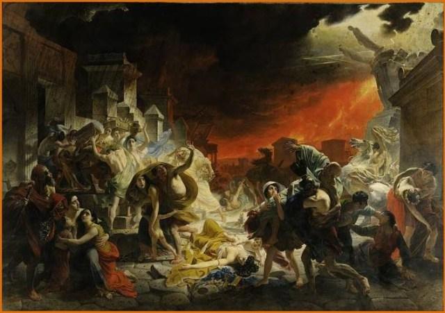 Последний день Помпеи картина