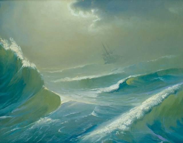 Море картина 3