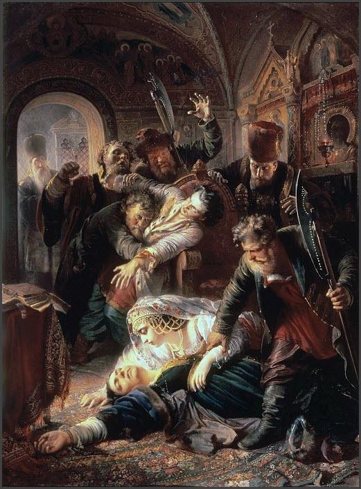 Убийство Фёдора Годунова