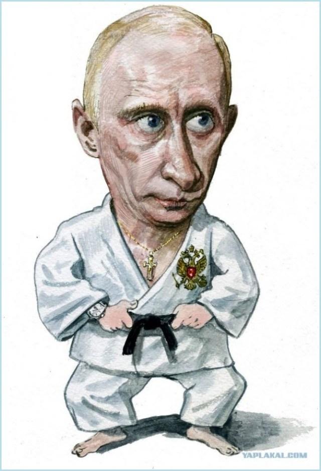 Путин дзюдоист