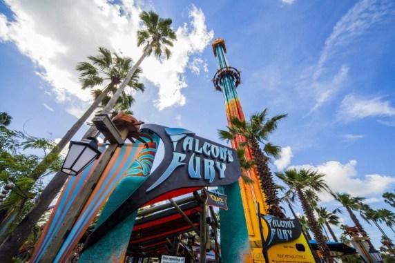 Busch Gardens Falcon's Fury