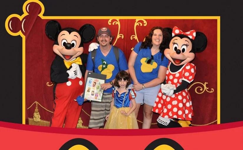Encontro com personagens na Disney e parques de Orlando