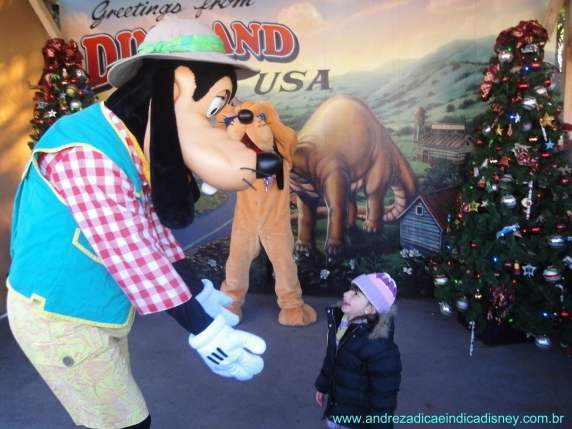 Menina com Pateta, Disney
