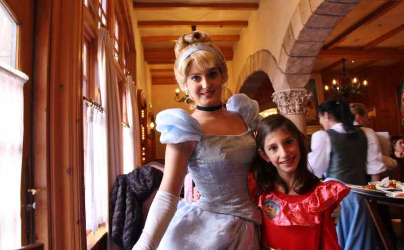 Almoço com as princesas na Disneyland Paris (Euro Disney)