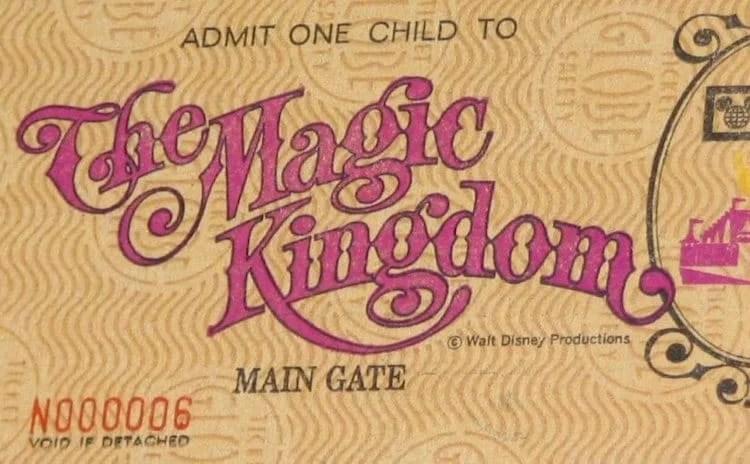 Parque Magic Kingdom Ingresso