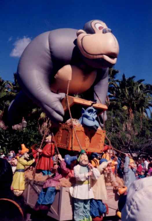 Aladdin's Royal Caravan Parade - MGM - Hollywood Sudios - 1994