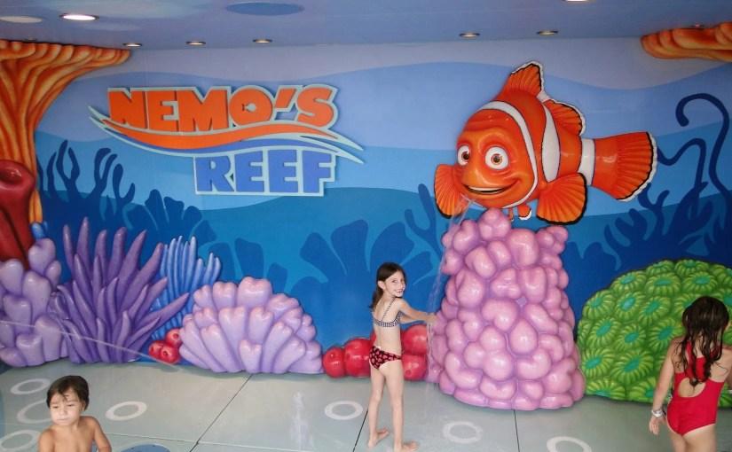 Atividades exclusivas para crianças no navio Disney Dream