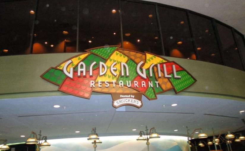 Garden Grill: Jantar com Mickey e amigos no Epcot