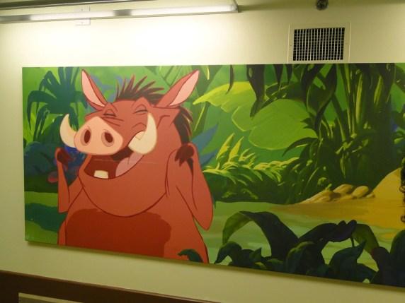 Art of Animation hotel Rei Leão