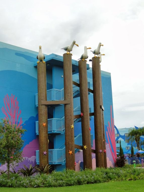 Art of Animation Disney hotel Nemo