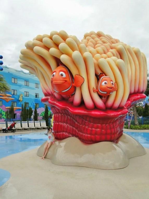 Art of Animation hotel Nemo