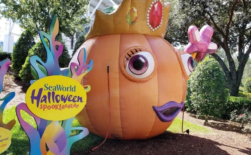 Halloween Spooktacular – A festa de Halloween do SeaWorld