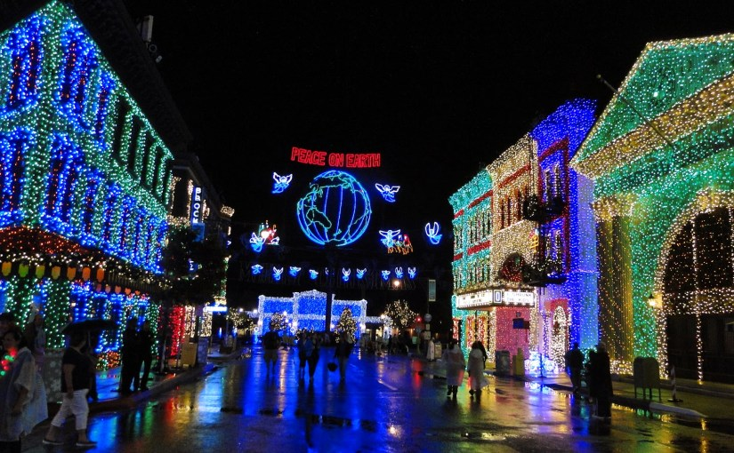 The Osborne Family Spectacle of Dancing Lights: as luzes dançantes de Natal no Hollywood Studios