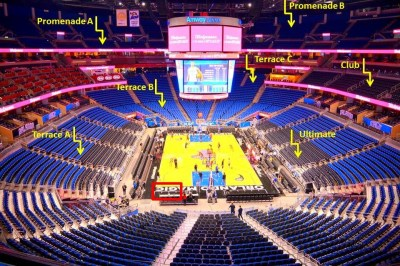 Amway Center Lugares