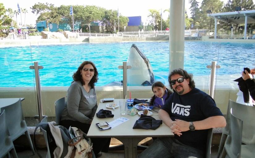 Dine with Shamu: Refeição com as baleias no SeaWorld