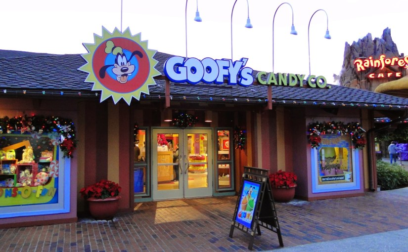 Goofy's Candy Co: A loja de doces do Pateta em Disney Springs (antigo Downtown Disney)