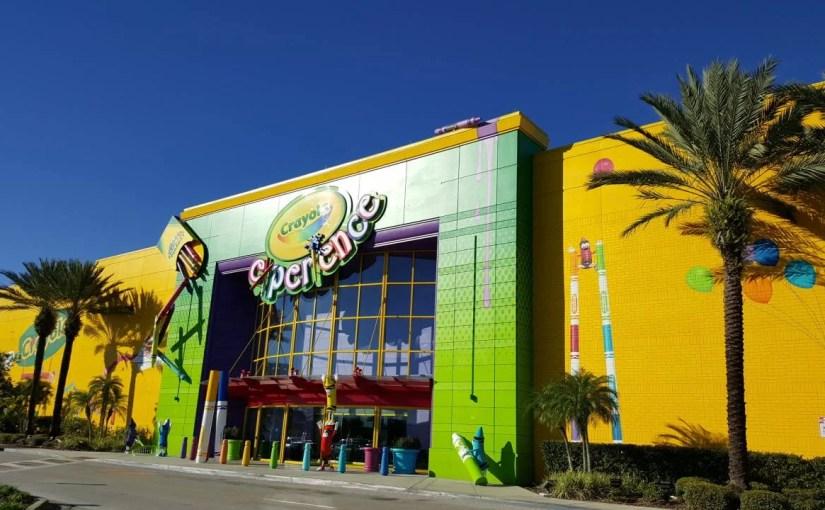 Como é o novo Crayola Experience em Orlando