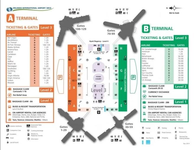 Tudo Sobre O Aeroporto De Orlando Andreza Dica E Indica