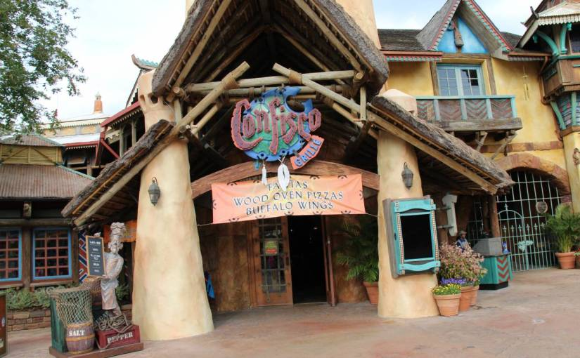 Confisco – Restaurante em Islands of Adventure