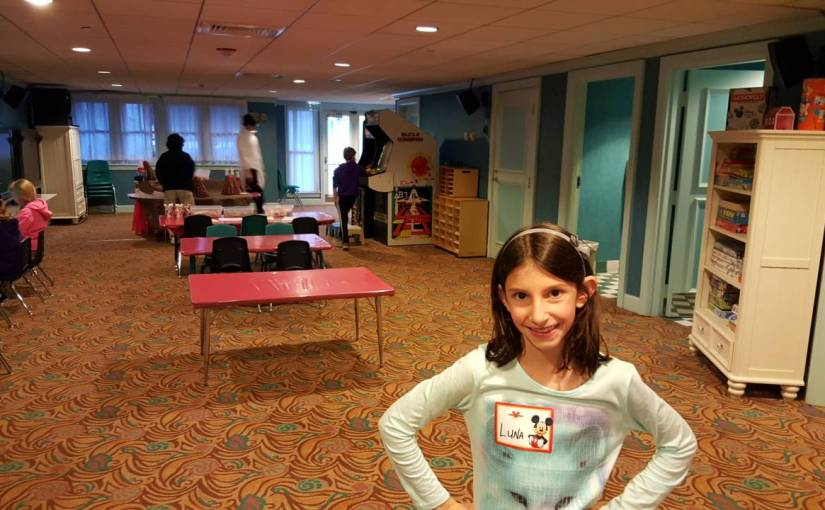 Children's Activity Center – Kids Club da Disney
