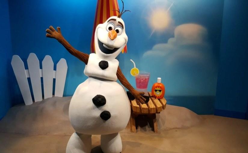 Personagens da Disney – Onde encontrar em Orlando