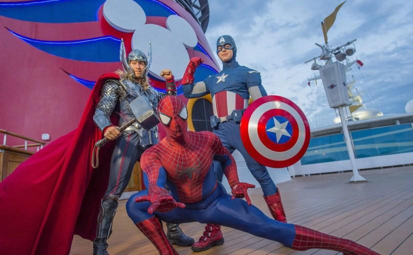Disney terá cruzeiros com dia inspirado na Marvel