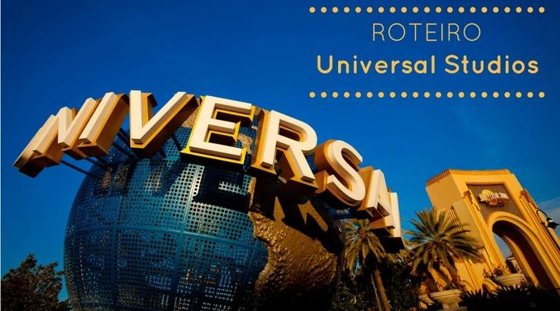 Roteiro no Universal Studios Orlando
